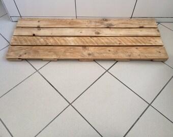 Wooden Bath Mat - Wood Duckboard, Wooden Mat