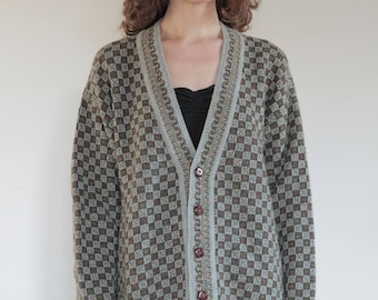 80's Missoni Example wool grandad cardigan