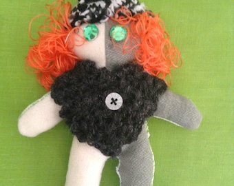 Art doll #7 - Free delivery to the UK