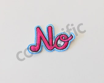 NO Sticker Patch