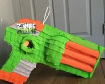 Nerf Gun Pinata Etsy