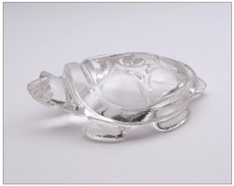 Rock Crystal Carved Tortoise