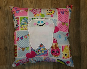 Shopkins Tooth Fairy Pillow