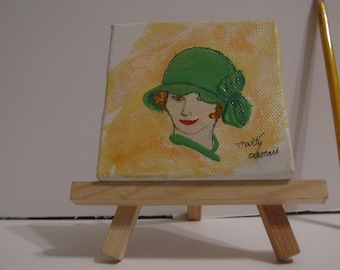 "Lady in Green  (Second in ""Ladies"" series)"
