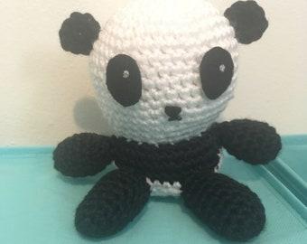 Panda Amigurumi Crochet Toy