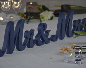 Sweetheart Table Mr And. Mrs Sign and  Mr and Mrs Table Sign