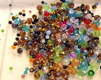Mostly rondell bead soup