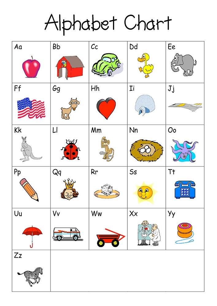 Printable Alphabet Chart Pdf | www.pixshark.com - Images ...