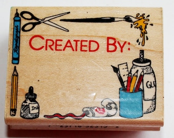 Created By Rubber Stamp from Inkadinkado