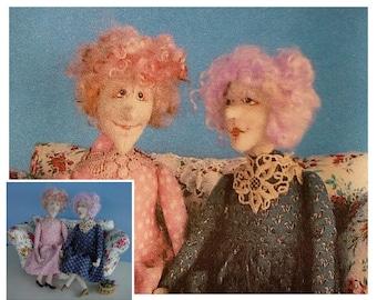 KK712E – Best Friend - Cloth Doll Making Sewing Pattern, PDF Download