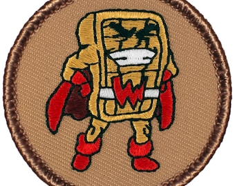 Super Waffle Patch (578) 2 Inch Diameter Embroidered Patch