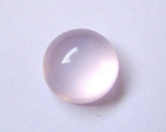 1 Pcs 16mm Natural ROSE Quartz Round Cabochon AAA Quality gemstone.....