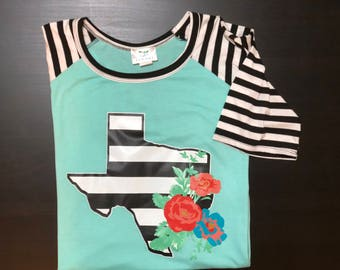 Texas Flower Raglan