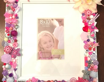 Baby Girl decorated frame