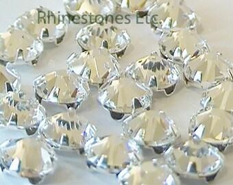 Crystal 30ss Swarovski Elements Rose Montee 10 pieces