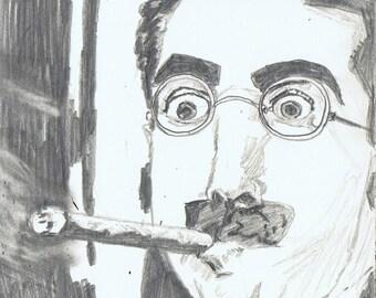 Groucho Marx print