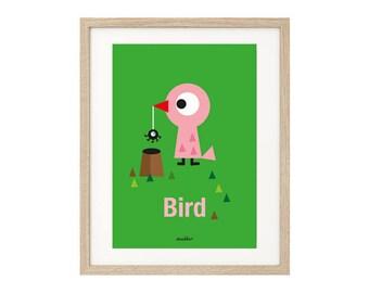"""Blade """"Bird"""". Blade children, fun decor."""