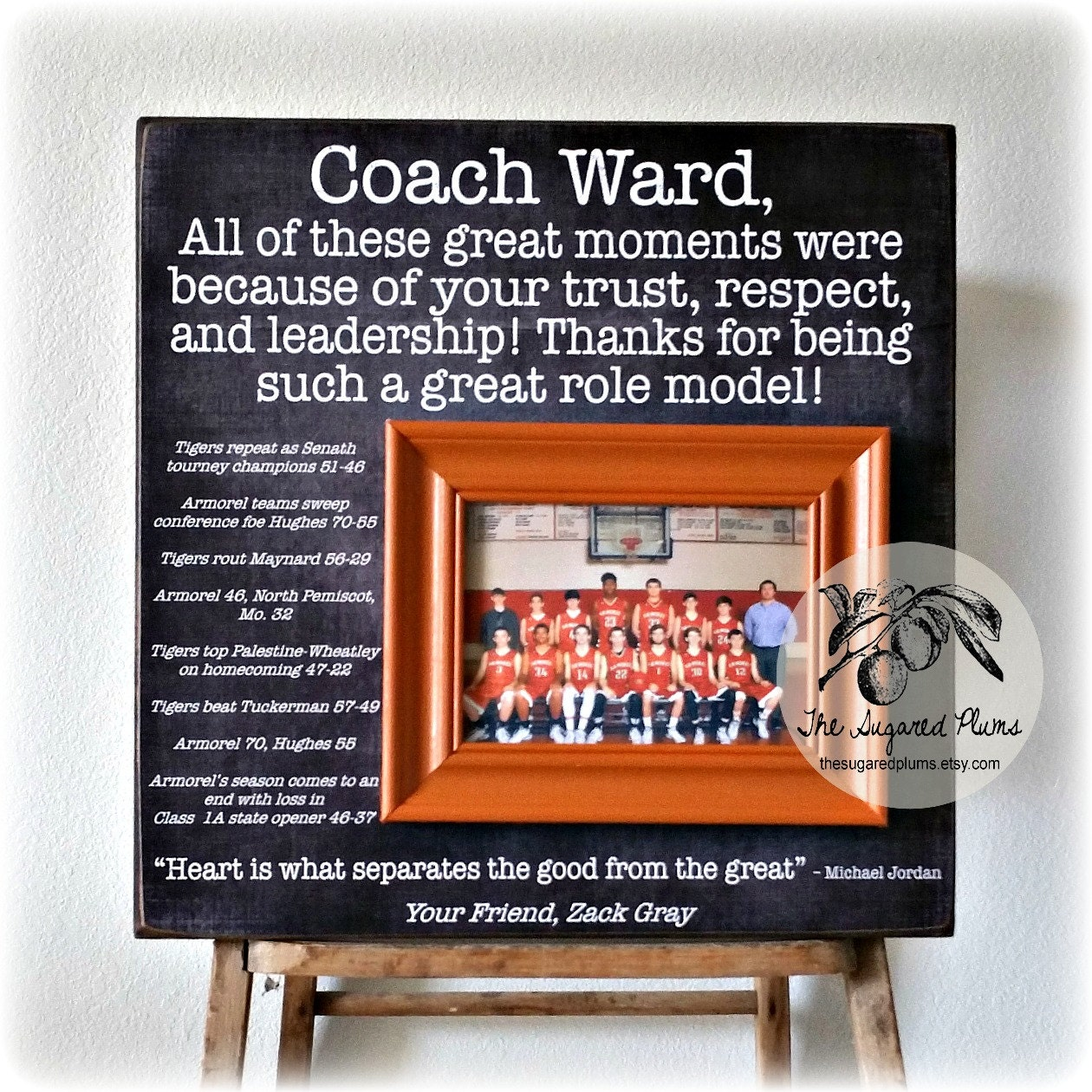 Coaches gift custom personalized gift for coach coach picture 7900 jeuxipadfo Gallery