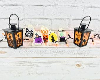 Halloween Party Bags/Halloween Goody Bags/Halloween Treat Bags/Halloween Muslin Bags/Trick or Treat Bags/Halloween Thank You bags/