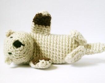 Amigurumi Pattern Crochet Sea Otter