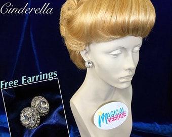 Classic Cinderella wig w/free Earrings