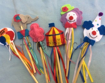 Handmade Create your own Custom Wand Party favor Pick a party Pack 1-36 wands