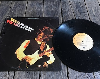 Steve Miller Band LP - Fly Like An Eagle LP - Steve Miller Fly Like An Eagle Vinyl Record - Steve Miller Band Record - SW-11497
