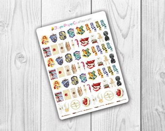 TINY Wizards & Witches Objects Stickers
