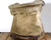 Vintage Canvas Lineman's Bag