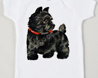 Vintage Scotty Dog Tee Custom Size Retro Tshirt