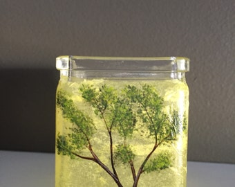 Upcycled multipurpose glass container