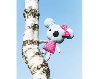 Missy the Koala Toy Sewing Pattern (803599)