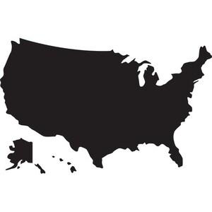 usa map clipart etsy rh etsy com USA Map Outline Clip Art Line Map of USA