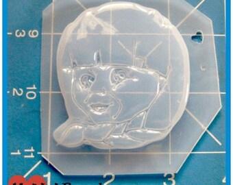 Horror Annabelle Doll Handmade Flexible Plastic Resin Mold
