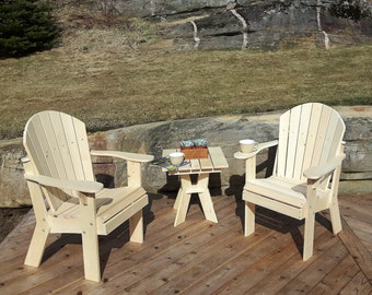 Adirondack Arm Chair Plans - DWG files for CNC machines