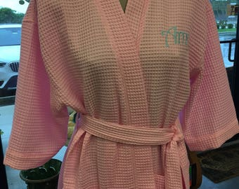 Monorgrammed Spa Robe
