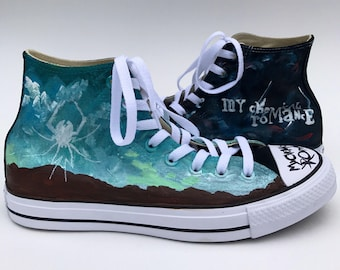 My Chemical Romance Hand Painted Sneakers