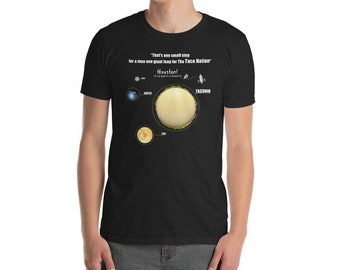 Taco Planet Welcome to Taconia Funny Space shirt
