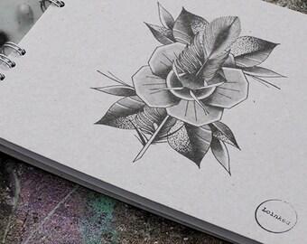 NOTEBOOK A spiral art