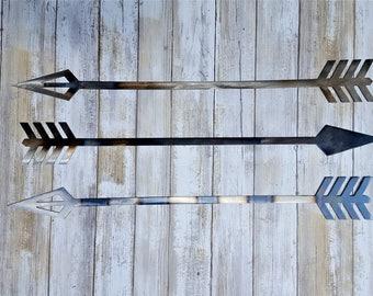 Arrow, Metal Arrows, wild and free, Tribal Decor