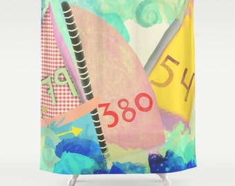 Shower Curtain - Regatta Kunst