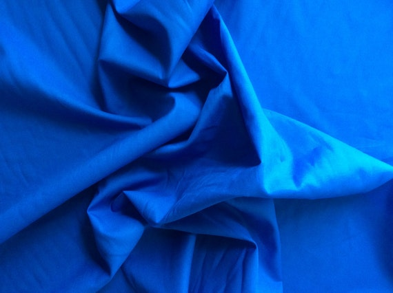 High quality cotton lawn dyed in Japan, blue