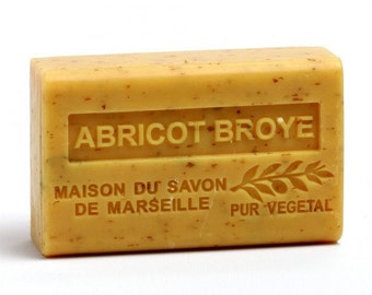 Apricot French Triple Milled Moisturizer & Exfoliating Soap