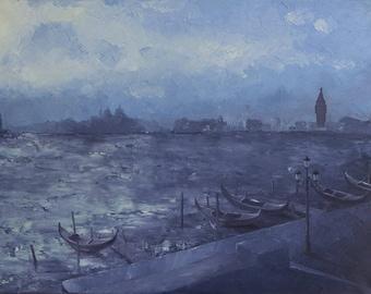 A Storm approaching Venice