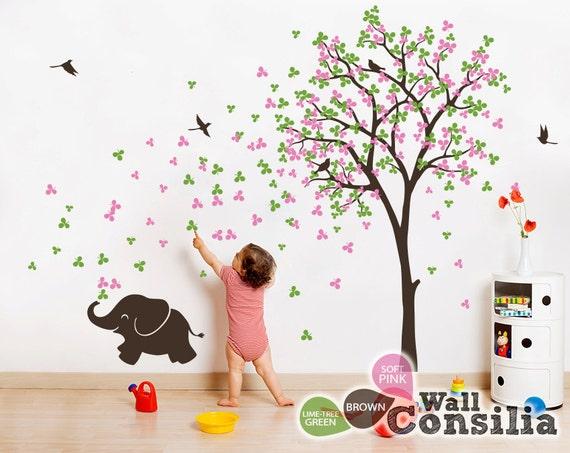 Nice Baby Kinderzimmer Wandtattoo Wand Aufkleber Elefant