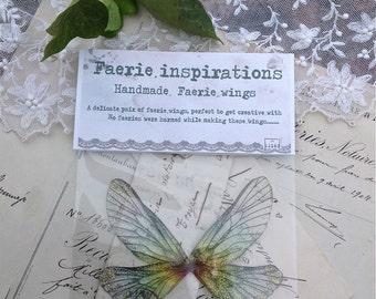 Pretty Rainbow faerie wings