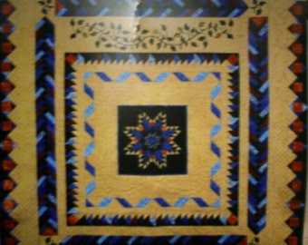 """Lilly Hill Creations Quilt Pattern Moonlight Dreams Size 95"""" x 102"""""""