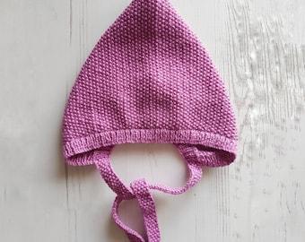 Pixie Bonnet, Pixie Hat, Toddler Pixie Hat, Pixie Baby Bonnet, Modern Bonnet, Toddler Knit Elf Hat, Trendy Baby, Toddler Girl Elf Hat