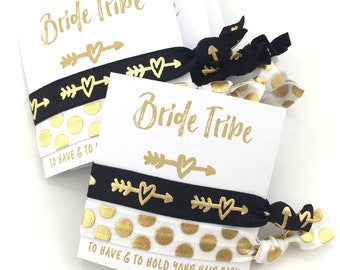 Bride Tribe Party Favors | Bachelorette Party Favors | Bridesmaid Gift | Girls Weekend Getaway Gift | Bachelorette Hair Ties | Southwestern