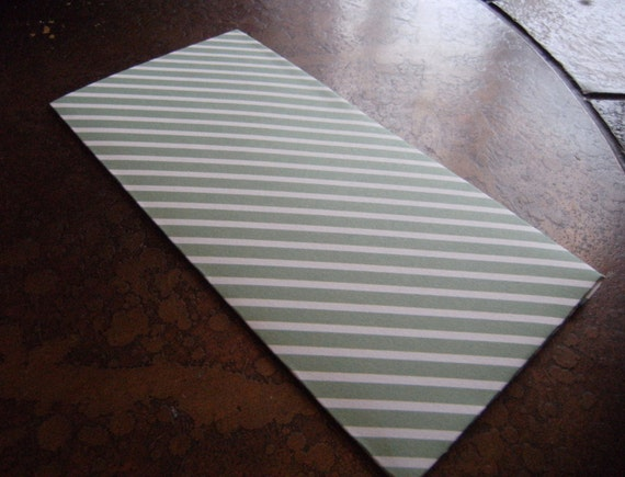 Love Stripe Traveler's Journal 2 Pocket Folder-Regular